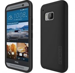 Incipio Dual Layer Protection With Aluminum Finish- Black/Black