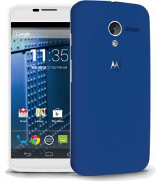 Motorola Moto X 16GB XT1060 Android Smartphone for PagePlus - White and Blue