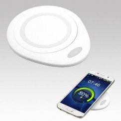Samsung Galaxy S6 White Wireless Charging Pad