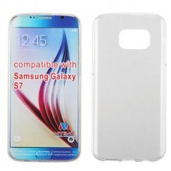 Samsung Galaxy S7 Glossy Transparent Clear Candy Skin Cover