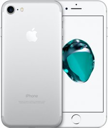 Apple iPhone 7 128GB Smartphone - Cricket Wireless - Silver