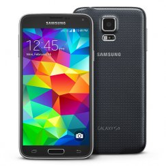 Samsung Galaxy S5 16GB SM-G900T Android Smartphone - Straight Talk Wireless - Charcoal Black