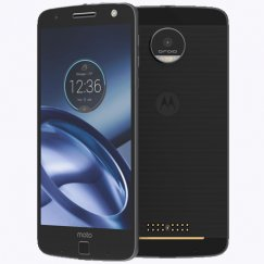 Motorola Moto Z Droid XT1650-03 Android Smartphone - Ting - Lunar Gray