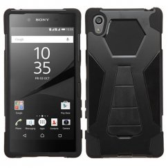 Sony Xperia Z5 Black Inverse Advanced Armor Stand Case