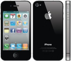 Apple iPhone 4 16GB Smartphone - Straight Talk Wireless - Black