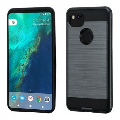 Google Pixel 2 XL Ink Blue/Black Brushed Hybrid Case