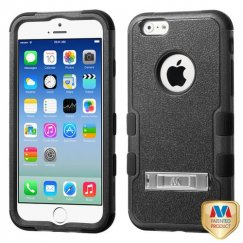 Apple iPhone 6s Natural Black/Black Hybrid Case with Stand