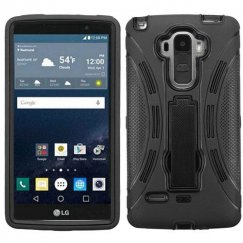 LG G Stylo Black/Black Symbiosis Stand Case