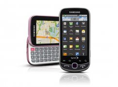 Samsung Intercept Bluetooth Android Smartphone for Virgin Mobile - Pink