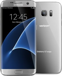Samsung Galaxy S7 Edge 32GB G935V Android Smartphone - Page Plus - Silver