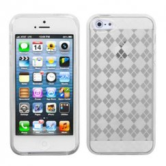 Apple iPhone 5c T-Clear Argyle Candy Skin Cover