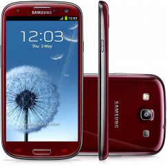 Samsung Galaxy S3 SGH-i747 16GB Android Smartphone - Tracfone - Red
