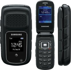 Samsung Rugby 4 SM-B780 Rugged Flip Phone - AT&T Wireless - Black