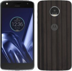 Motorola Moto Z Play XT1635 32GB Android Smartphone for Page Plus - Black with Ashwood Back Smartphone in Black