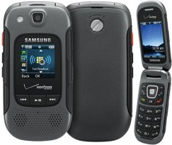 Samsung Convoy 3 SCH-U680 Rugged MIL-SPEC Flip Phone - Page Plus - Gray