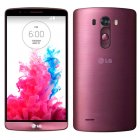 LG G3 Vigor LS885 8GB SPRINT 4G LTE Android Smart Phone Burgundy Red