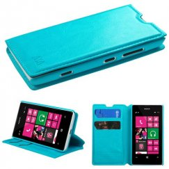 Nokia Lumia 521 Blue Wallet with Tray
