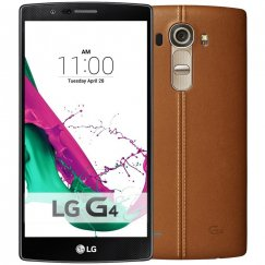 LG G4 VS986 32GB Android Smartphone for Page Plus - Brown Leather Smartphone in Brown
