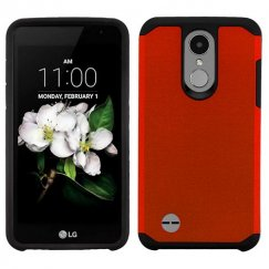 LG K8 Red/Black Astronoot Phone Case