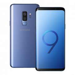 Samsung Galaxy S9 Plus SM-G965U 64GB Android Smart Phone Cricket Wireless in Coral Blue