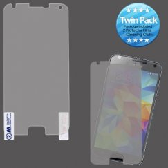 Samsung Galaxy S5 Screen Protector Twin Pack