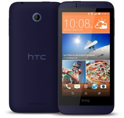 HTC Desire 510 Android Smartphone for Virgin Mobile - Deep Blue