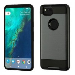 Google Pixel 2 Black/Black Brushed Hybrid Case