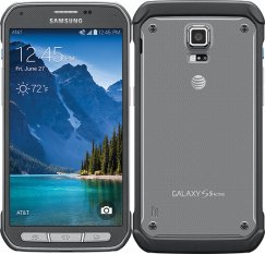 Samsung Galaxy S5 Active 16GB G870a Rugged Android Smartphone - Straight Talk Wireless - Gray