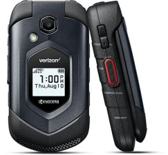 Kyocera DuraXV LTE E4610 Durable Push To Talk Flip Phone for Verizon