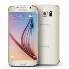 Samsung Galaxy S6 32GB SM-G920A Android Smartphone - Straight Talk Wireless - Platinum Gold