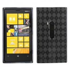 Nokia Lumia 920 Smoke Argyle Candy Skin Cover
