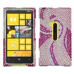 Nokia Lumia 920 Phoenix Tail Diamante Case