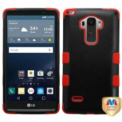 LG G Stylo Natural Black/Red Hybrid Case