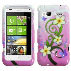 HTC Radar Tropical Flowers Case
