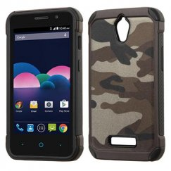 ZTE Obsidian Camouflage Gray Backing/Black Astronoot Case