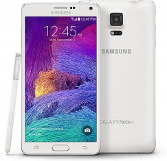 Samsung Galaxy Note 4 32GB N910A Android Smartphone - Cricket Wireless - Pearl White