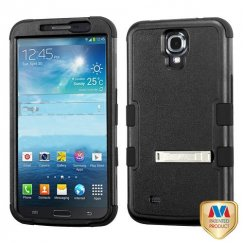 Samsung Galaxy Mega Natural Black/Black Hybrid Case with Stand