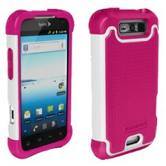 Ballistic LG LS840 Viper 4G Shell Gel (SG) Series Case, Hot Pink/White, SG0868-M865