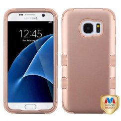Samsung Galaxy S7 Rose Gold/Rose Gold Hybrid Case
