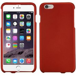 Apple iPhone 6s Plus Titanium Solid Red Case