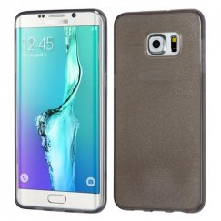 Samsung Galaxy S6 Edge Plus T-Smoke Glittering Clover Candy Skin Cover