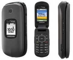 Samsung Gusto 2 Flip Phone for Verizon PREPAID - Gray
