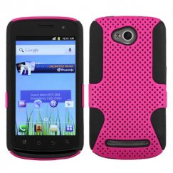 Coolpad Quattro 4G Hot Pink/Black Astronoot Case