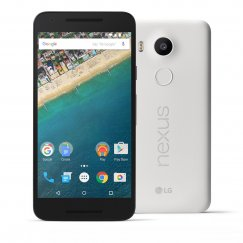 LG Nexus 5X 16GB Android Smartphone - Tracfone - White