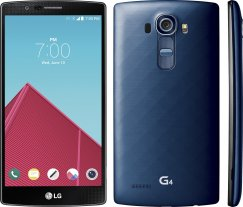 LG G4 32GB LS991 Android Smartphone for Ting - Deep Blue