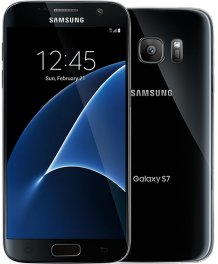 Samsung Galaxy S7 32GB SM-G930V Android Smartphone - Page Plus - Black Onyx Smartphone in Black