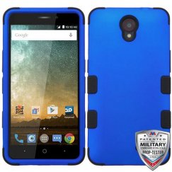 ZTE Prestige 2 Titanium Dark Blue/Black Hybrid Case Military Grade