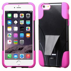 Apple iPhone 6 Plus Hot Pink Inverse Advanced Armor Stand Case