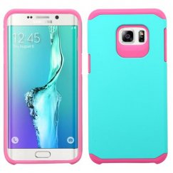 Samsung Galaxy S6 Edge Plus Teal Green/Hot Pink Astronoot Case