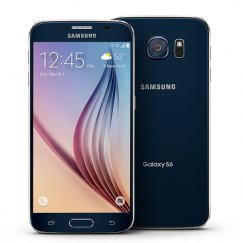 Samsung Galaxy S6 32GB SM-G920T Android Smartphone - Cricket Wireless - Sapphire Black